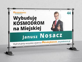 Banery wyborcze 2018